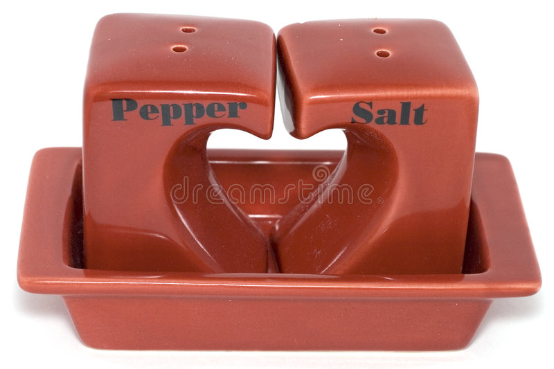 Pepper&salt photos stock