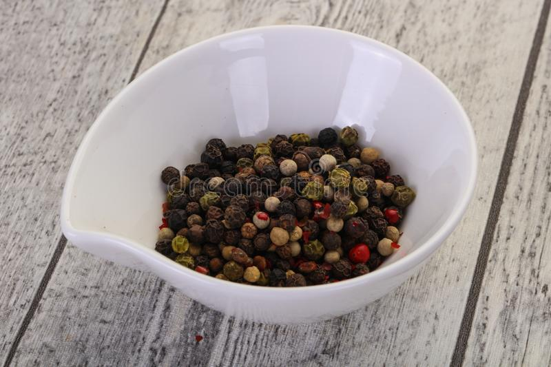 Pepper corn mix royalty free stock photo