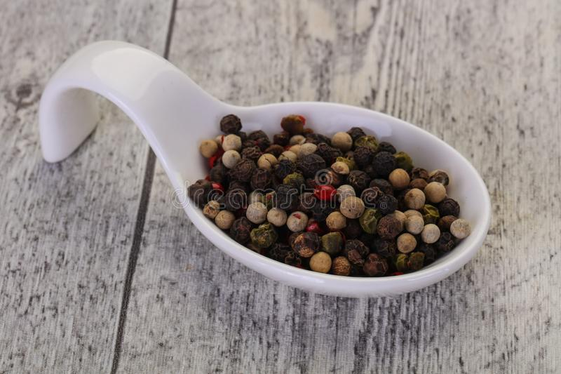 Pepper corn mix royalty free stock photography