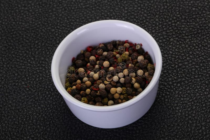 Pepper corn mix royalty free stock photos