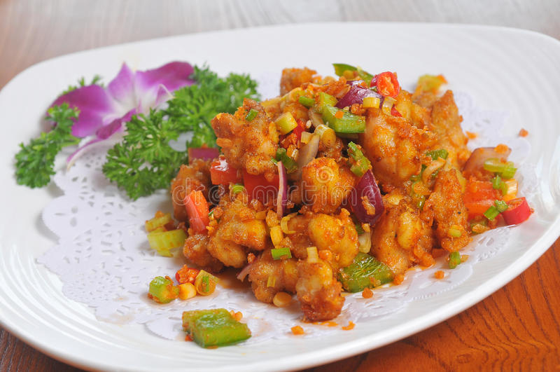 Download Pepper Fried Pork Royalty Free Stock Photo - Image: 33201595