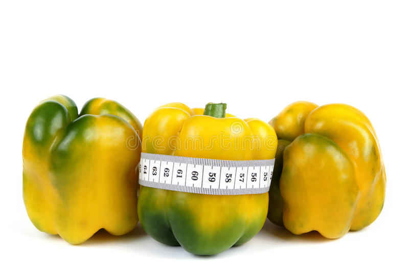 Download Pepper and meter stock photo. Image of length, natural - 26001444