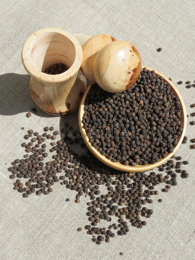 Pepper and mill