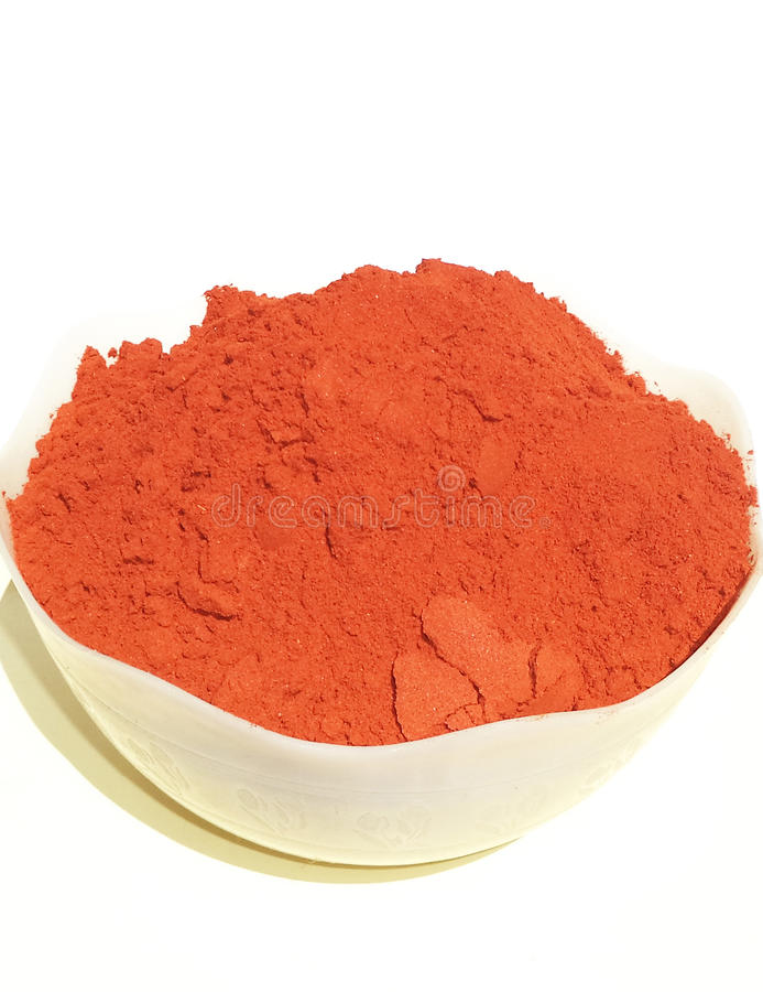 Pepper powder stock images