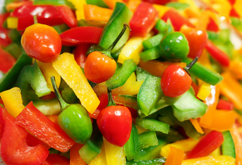 Download Pepper salad stock photo. Image of lettuce, vitamins, organic - 8521350