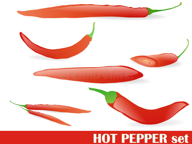 Download Pepper Set Stock Photography - Image: 16332332