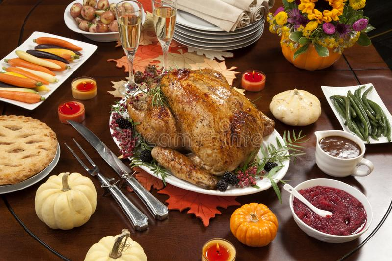 Pepper Turkey for Thanksgiving royalty free stock photo
