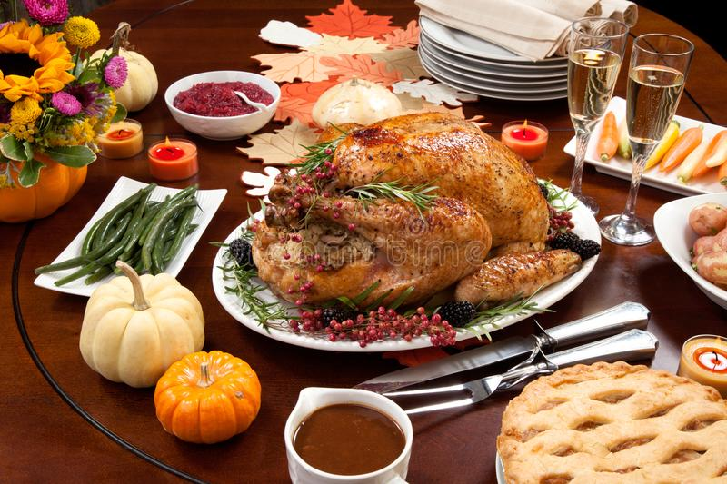 Pepper Turkey for Thanksgiving royalty free stock image
