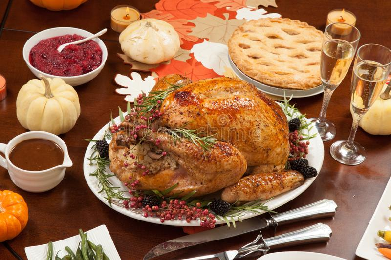 Pepper Turkey for Thanksgiving stock photo