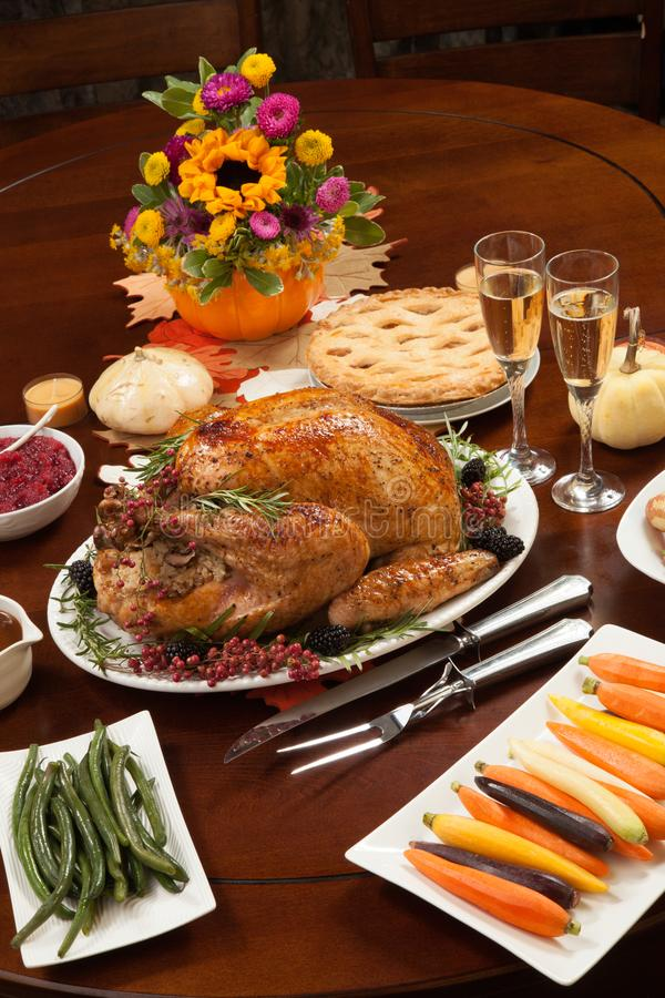 Pepper Turkey for Thanksgiving stock images