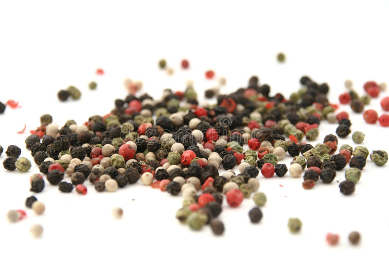 peppercorn royaltyfri foto