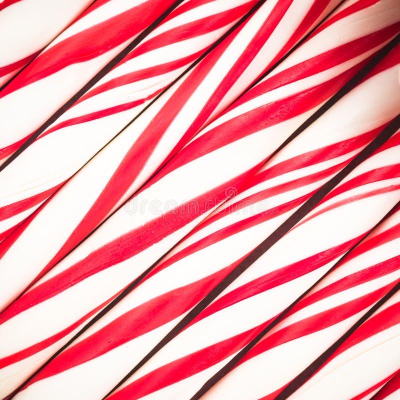 Peppermint κάλαμος καραμελών, γλυκά τρόφιμα Χριστουγέννων στοκ φωτογραφίες