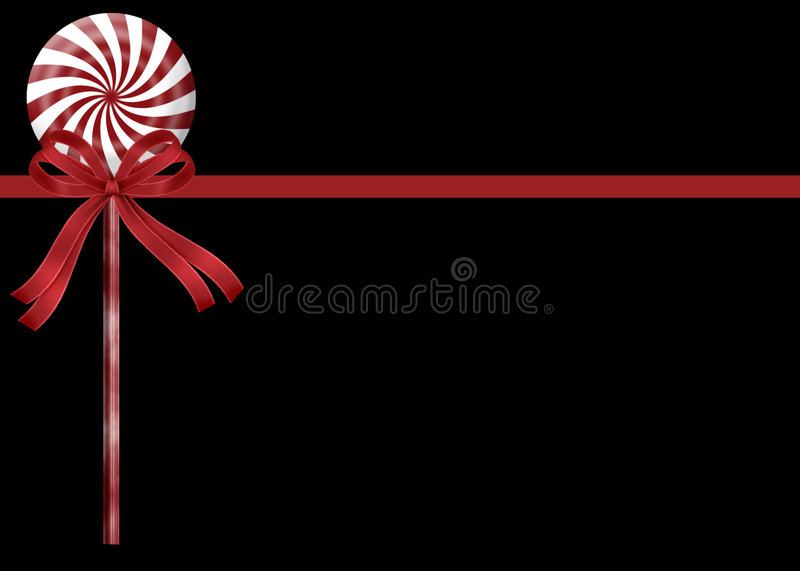 Peppermint Candy Stick Background royalty free stock photo