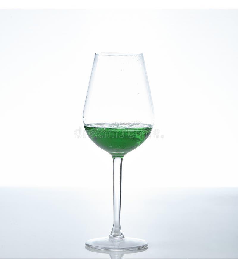 Peppermint liqueur Cocktail stock photo