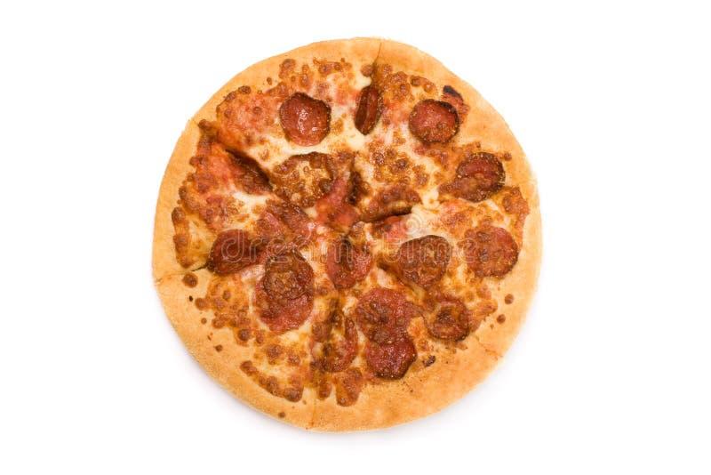 pepperoni πίτσα στοκ φωτογραφίες