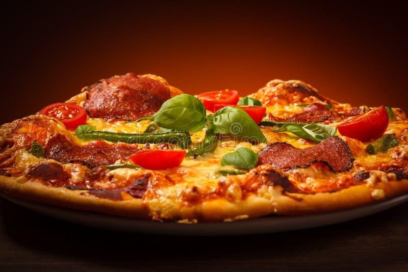 Pizza photographie stock libre de droits