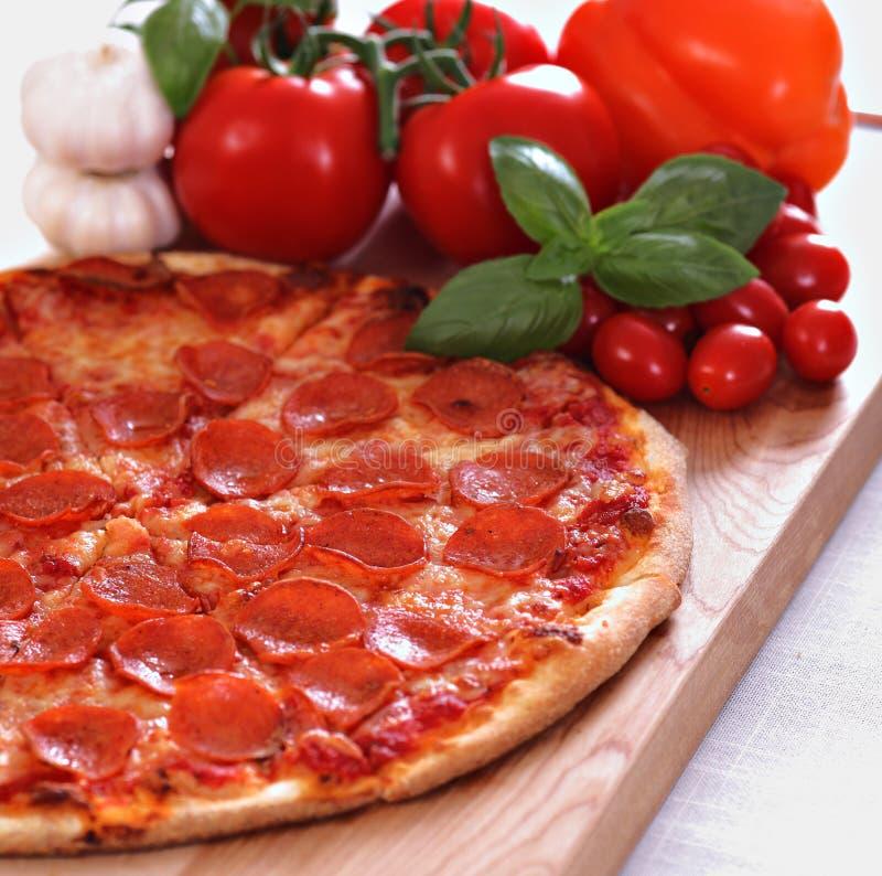 pepperoni pizza zdjęcie royalty free