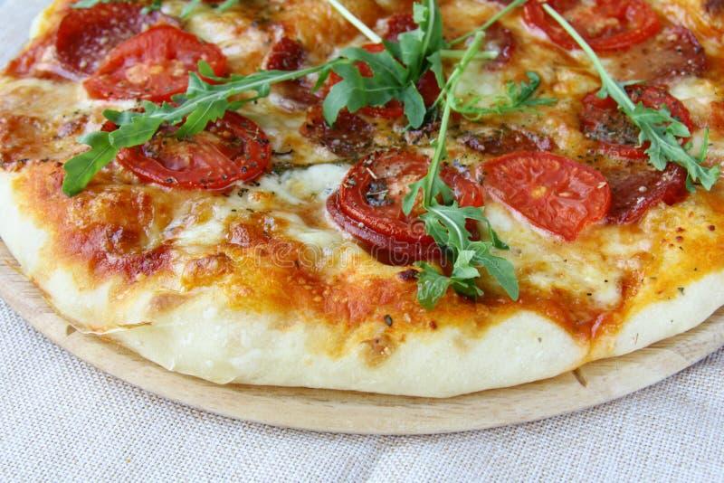 Pepperoni pizza stock photos