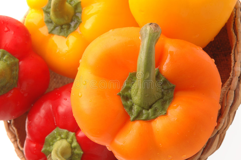 Download Peppers 7 stock image. Image of market, horizontal, white - 315283
