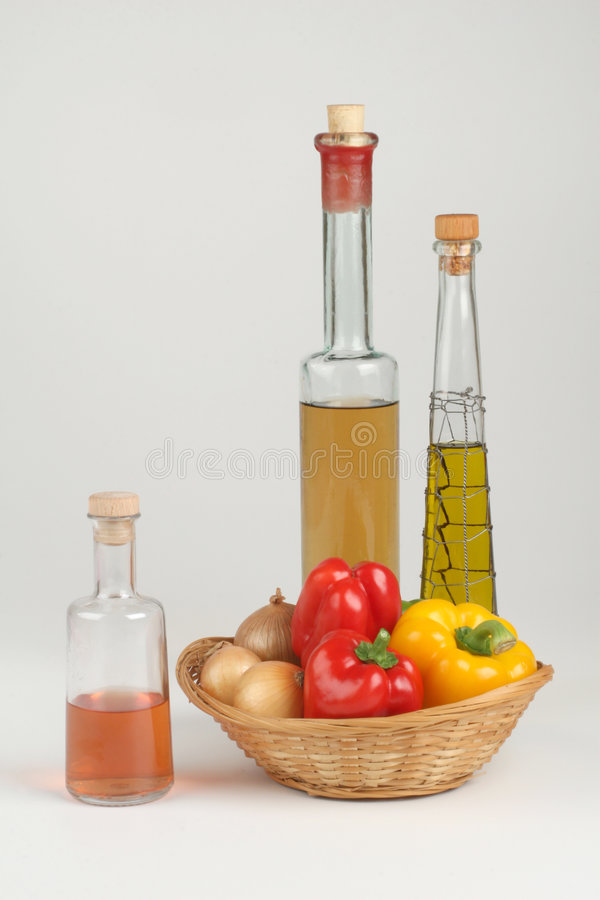Free Peppers And Oil Stock Photos - 3041463