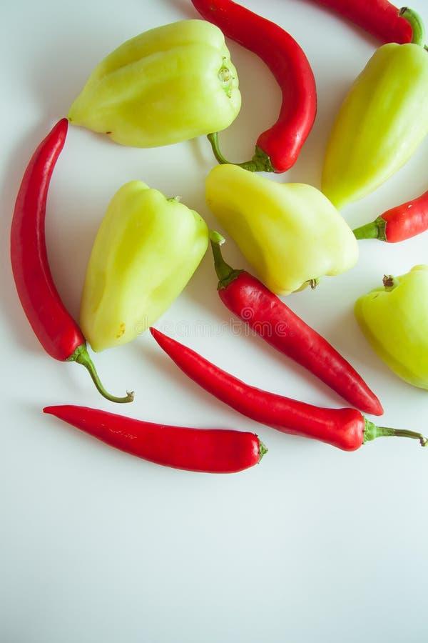 Peppers&garlic royalty-vrije stock foto