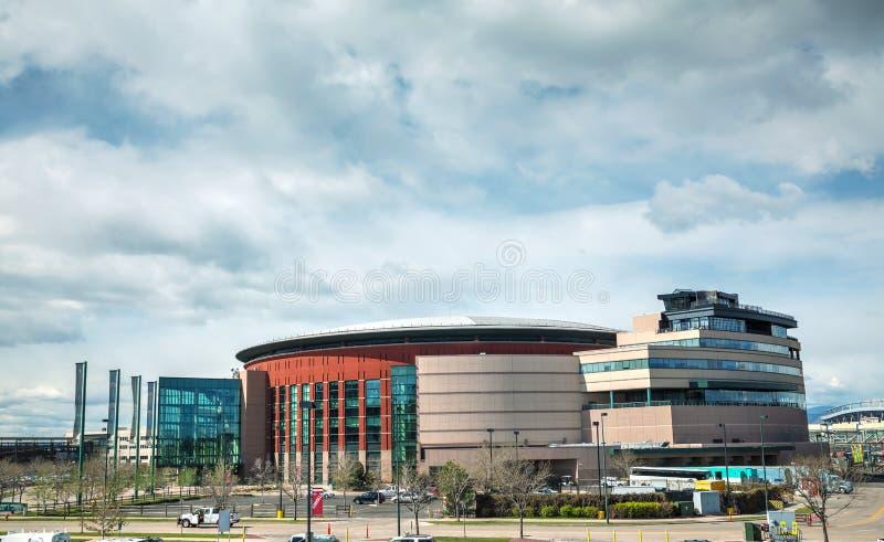 Pepsi Center in Denver, Colorado royalty free stock photography
