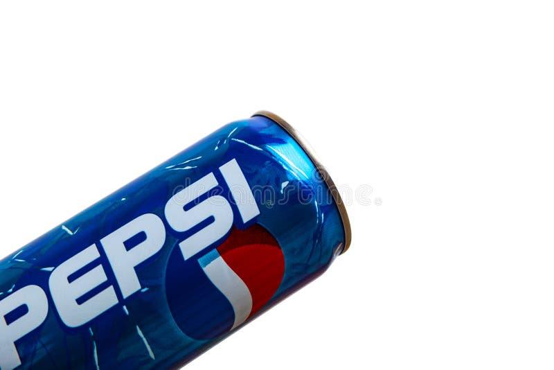 Pepsi-Cola 2000s alkoholfreies Getr?nk kann Begrenzte Ausgabe lizenzfreies stockfoto