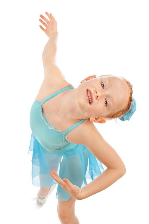 Pequeña actitud de la bailarina fotos de archivo libres de regalías