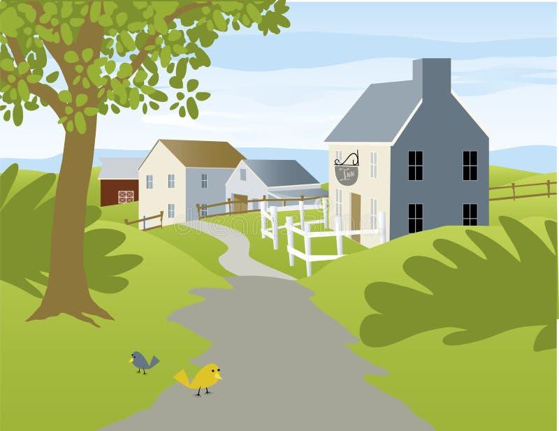 Pequeña aldea libre illustration