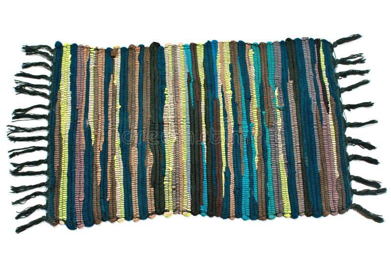 Pequeña alfombra colorida imagen de archivo libre de regalías