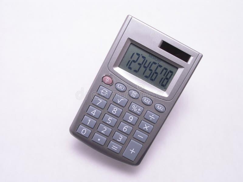 Pequeña calculadora solar 1 foto de archivo