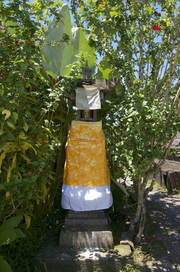 Pequeña capilla típica del Balinese imagen de archivo libre de regalías