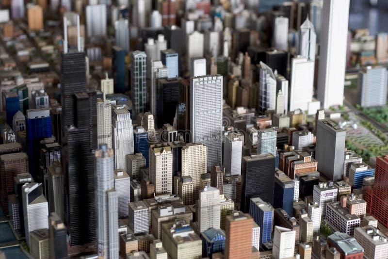 Pequeña Chicago foto de archivo libre de regalías