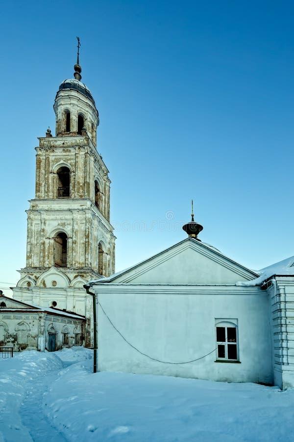 Pequeña ciudad de Poshekhonye, región de Yaroslavl, Rusia imágenes de archivo libres de regalías