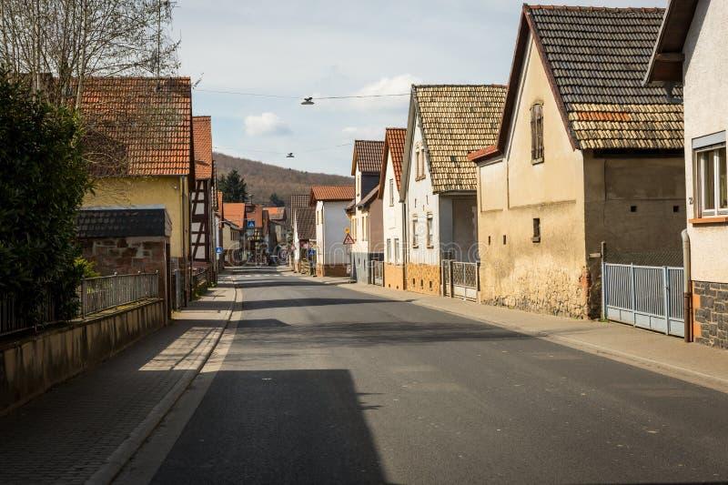 Pequeña ciudad en Europa imagen de archivo