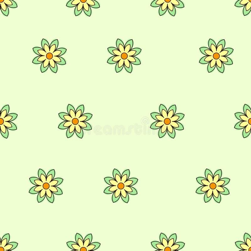 Pequeña flor stock de ilustración