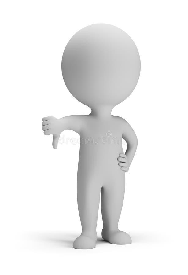 pequeña gente 3d - no libre illustration