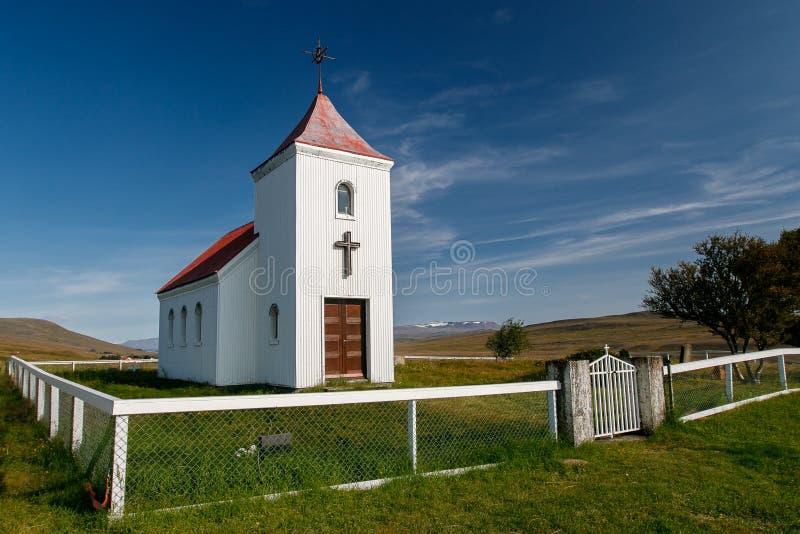 Pequeña iglesia fotografía de archivo libre de regalías