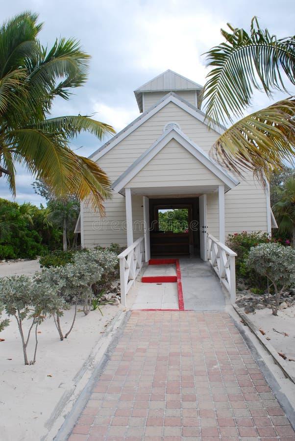 Pequeña iglesia del país imagen de archivo