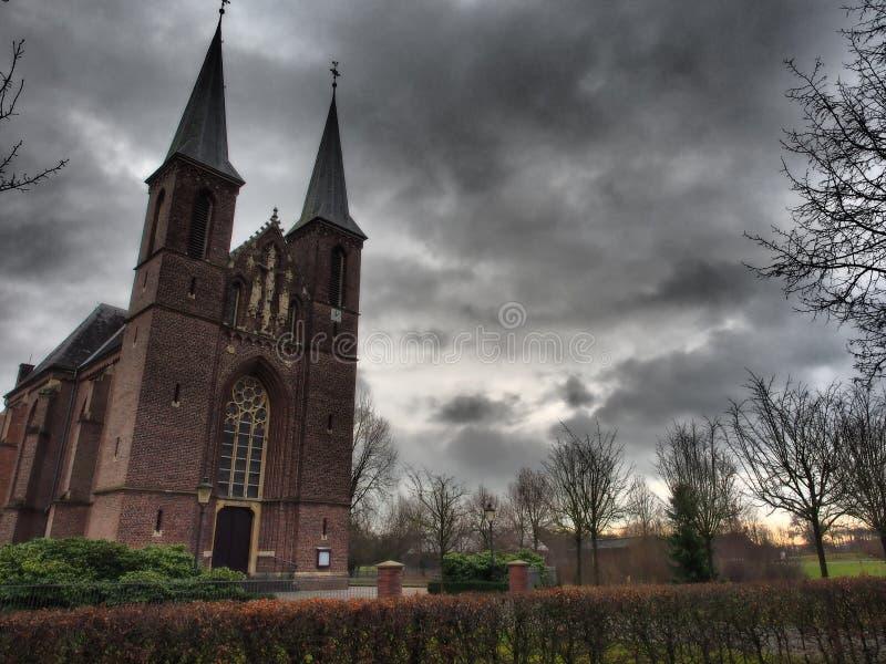 Pequeña iglesia en Alemania foto de archivo libre de regalías