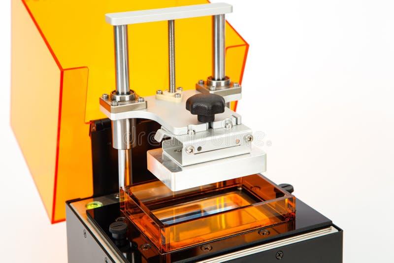 Pequeña impresora del hogar 3D foto de archivo libre de regalías