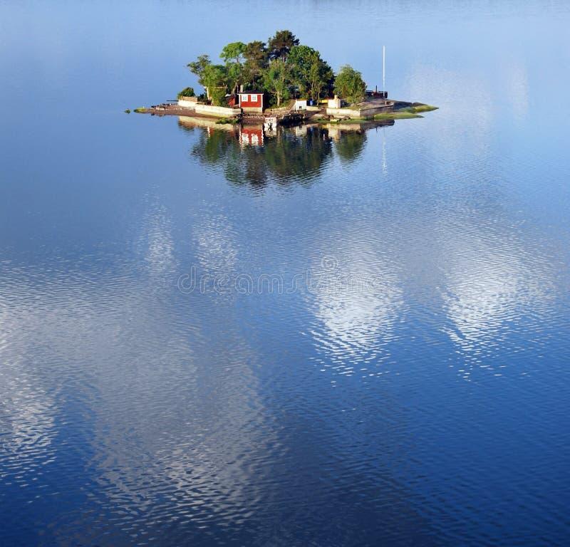 Pequeña isla foto de archivo