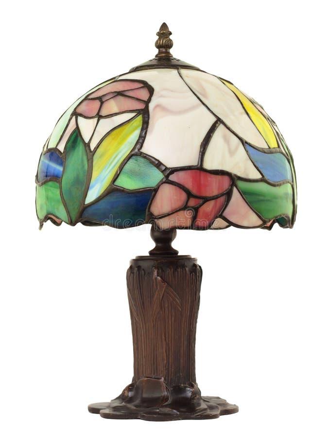 Pequeña lámpara de cristal plomada imagen de archivo libre de regalías