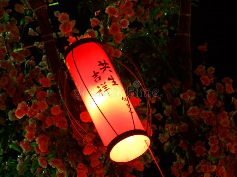 Pequeña Linterna Roja Foto de archivo libre de regalías