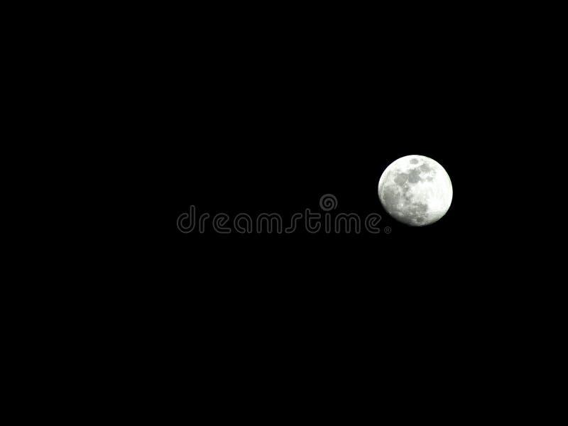 Pequeña luna foto de archivo libre de regalías