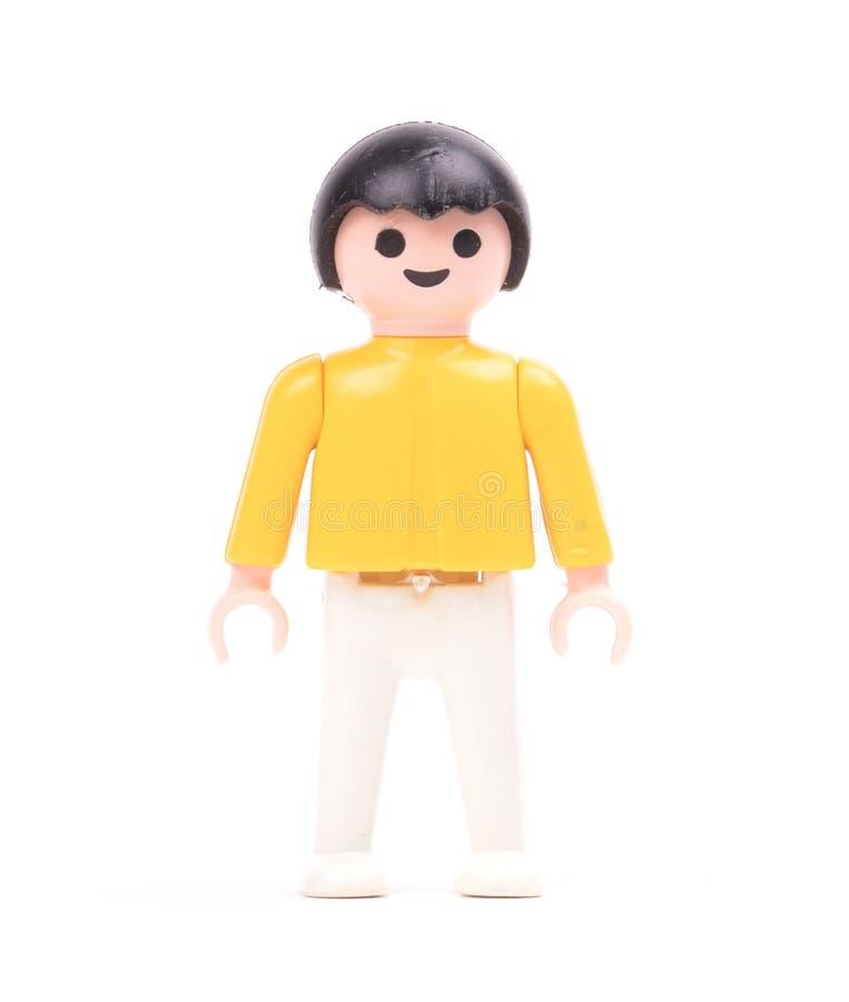 Pequeña muñeca, juguetes para los niños foto de archivo