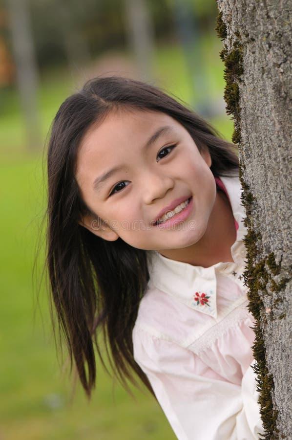 Pequeña muchacha asiática imagen de archivo libre de regalías