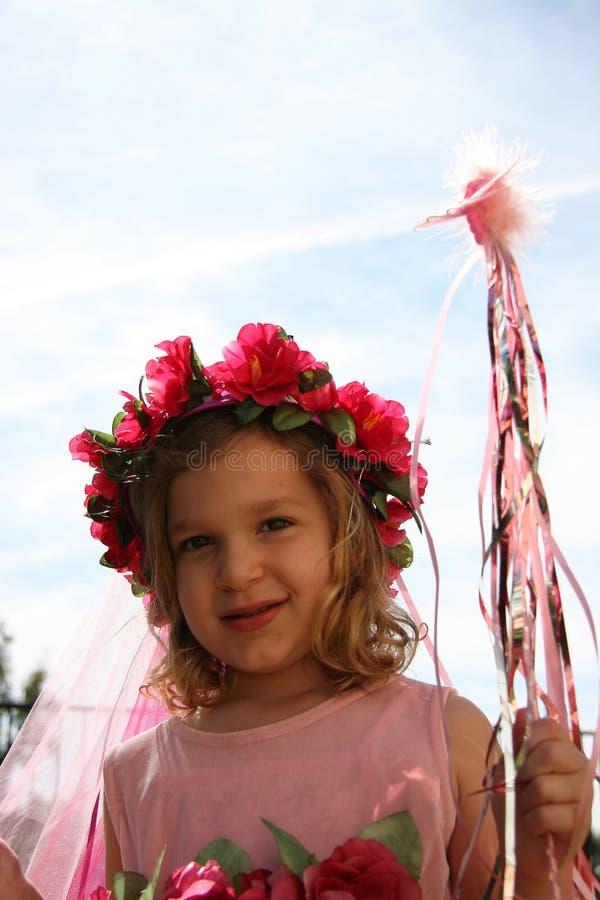 Pequeña princesa 3 foto de archivo