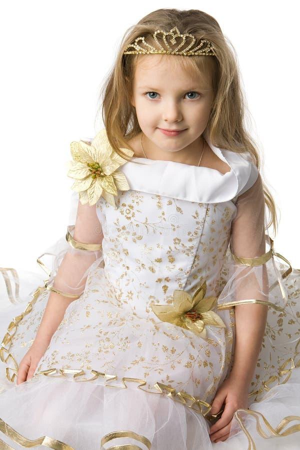 Pequeña princesa imágenes de archivo libres de regalías