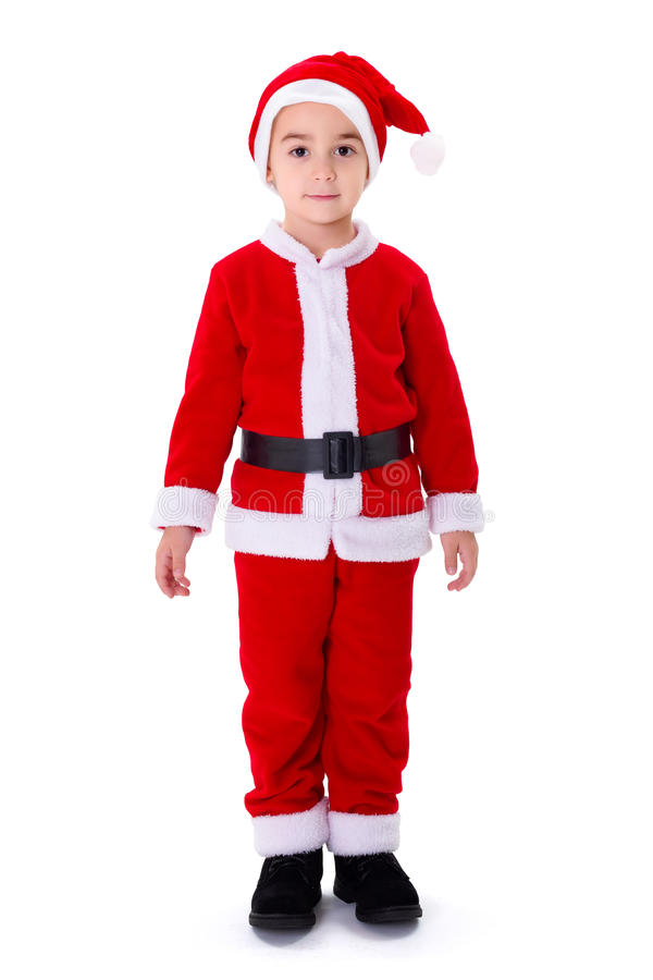 Pequeña Santa Claus foto de archivo